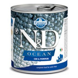 N&D DOG OCEAN Adult Codfish & Pumpkin 285g