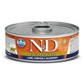 N&D CAT PUMPKIN Adult Lamb & Blueberry 80g