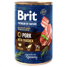 BRIT Premium by Nature Pork with Trachea 400g