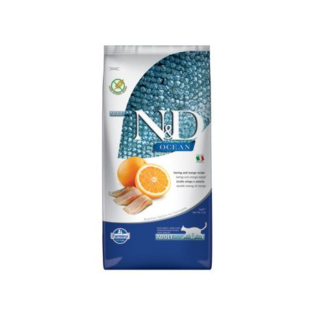 N&D OCEAN CAT GF Adult Herring & Orange 10kg