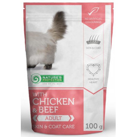 Nature's Protection Cat kapsa Persian chicken&beef 100g