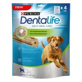 Purina DentaLife Large 142 g 25 - 40 kg 4tycinky
