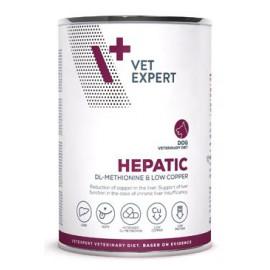 VetExpert 4T Hepatic Dog konzerva 400g