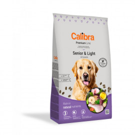 Calibra Dog Premium Line Senior&Light 12 kg NEW