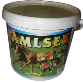 Pochoutka pro koně kyblík Melasa 2,5 kg