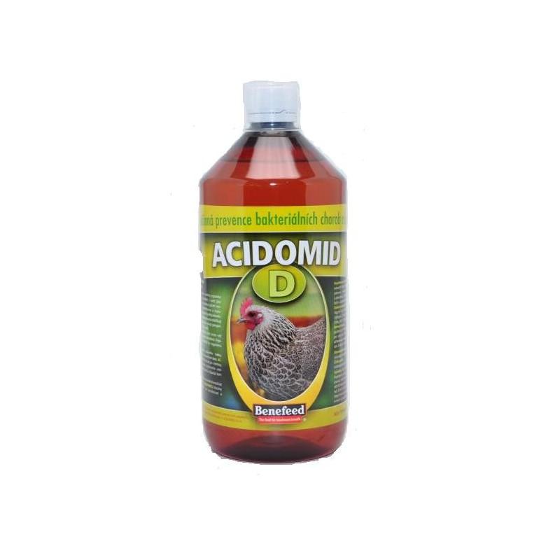 Aquamid s.r.o. Acidomid D drůbež 1 l