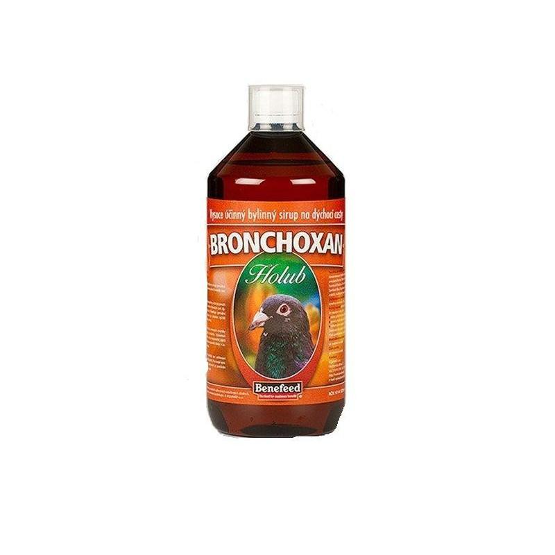 Aquamid s.r.o. Bronchoxan pro holuby bylinný sirup 1 l