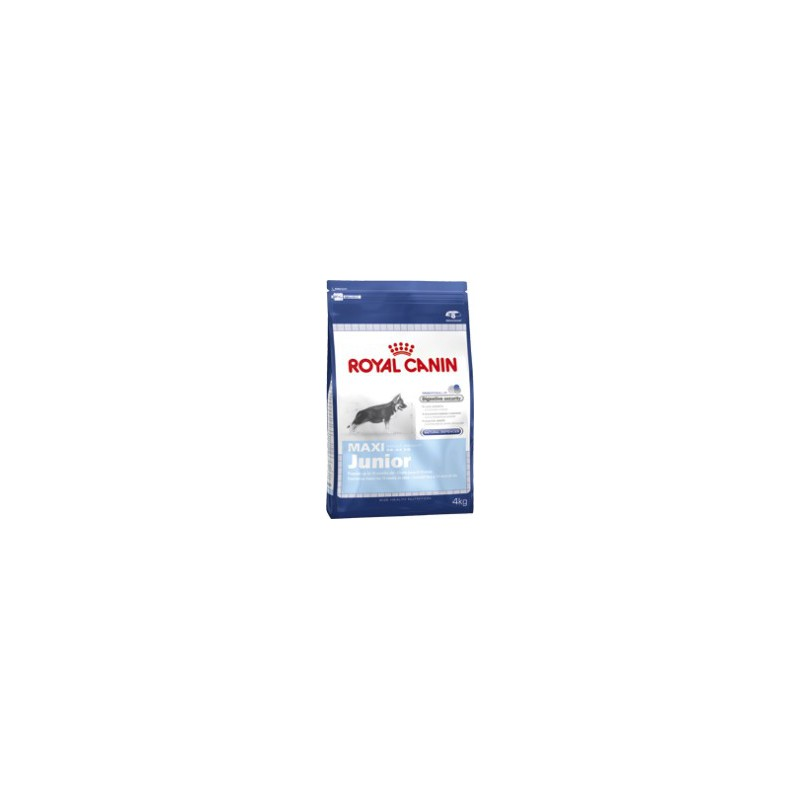 Royal Canin - komerční krmivo a Breed Royal Canin Maxi Junior 4 kg