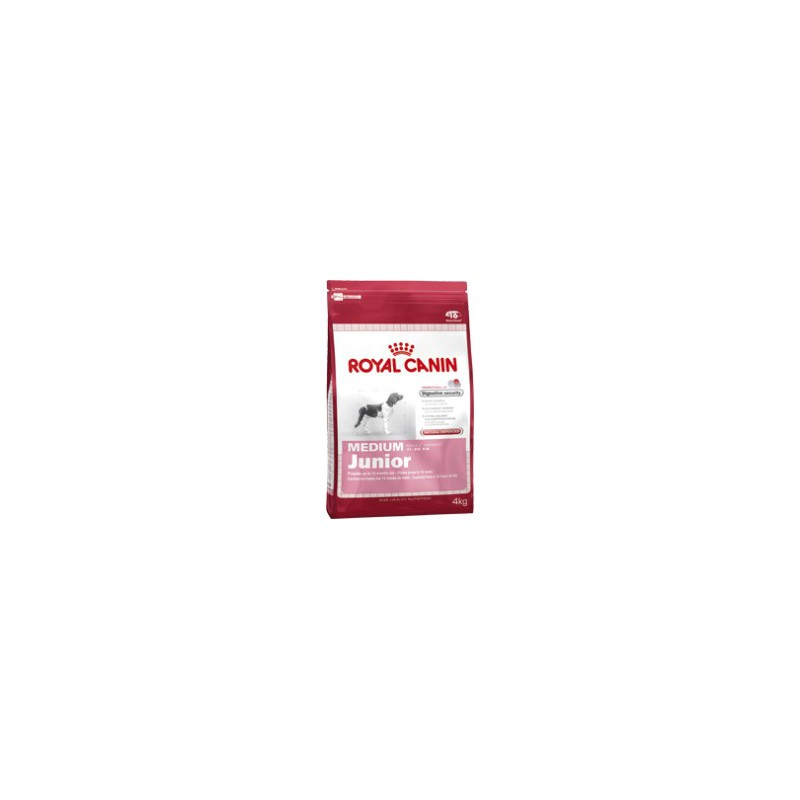 Royal Canin - komerční krmivo a Breed Royal Canin Medium Junior 1 kg