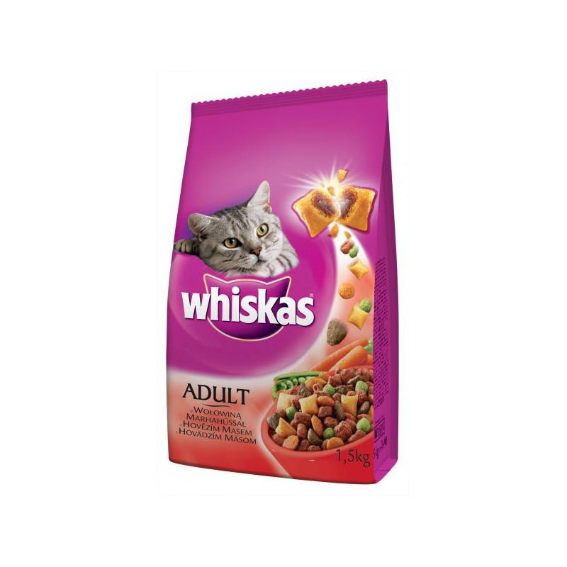 MARS, kom.spol. Whiskas s hovězím masem 1,4 kg