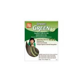Sergeanťs Green obojek pro kočky 35 cm