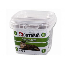Snack ONTARIO Cat Dental Bits 75g