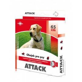 Antiparazitární obojek pr psy Attack 65 cm
