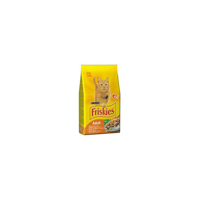 SAMOHYL Friskies cat kuře, zelenina 10 kg