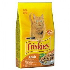 Friskies cat kuře, zelenina 4 kg
