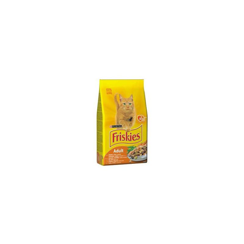 SAMOHYL Friskies cat kuře, zelenina 4 kg