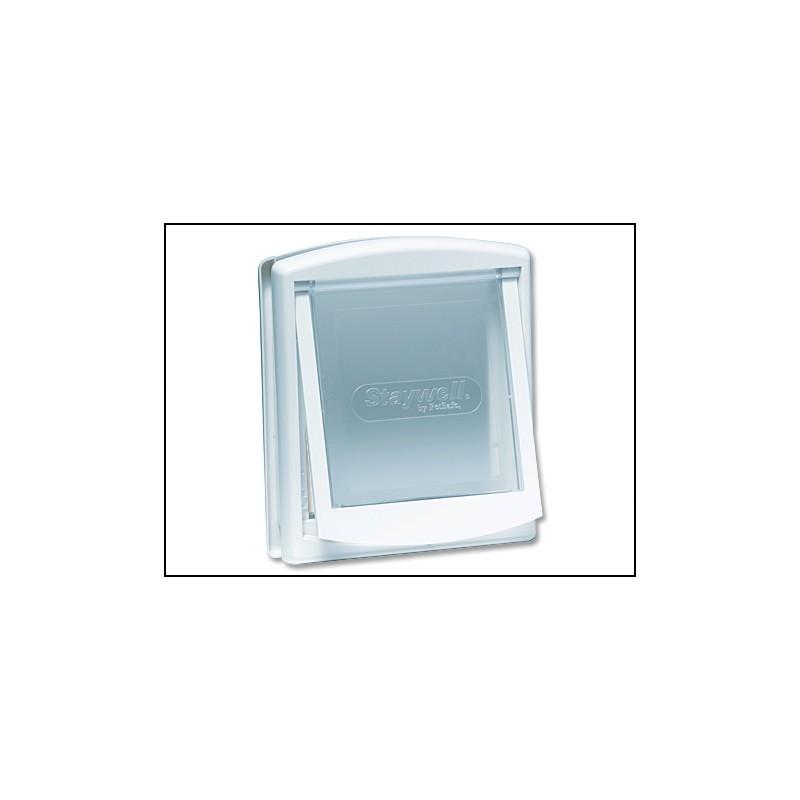 Plaček s.r.o. - ostatní doplňky Dvířka STAYWELL bílá s transparentním flapem 715 1ks