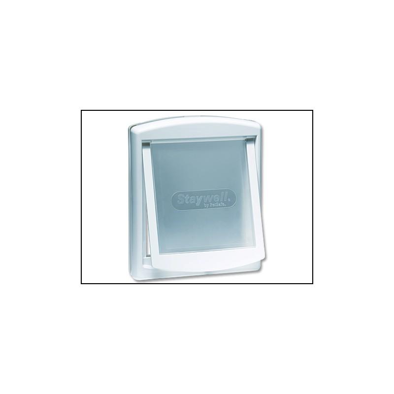 RADIO SYSTEM - dvířka Dvířka STAYWELL bílá s transparentním flapem 740 1ks