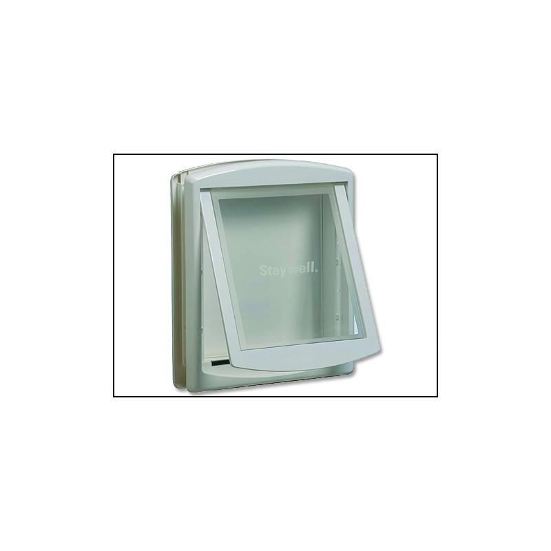 RADIO SYSTEM - dvířka Dvířka STAYWELL bílá s transparentním flapem 760 1ks