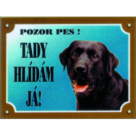 Tabulka DAFIKO labradorský retriever černý 1ks