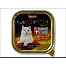 Paštika ANIMONDA Vom Feinsten drůbeží + telecí maso 100g