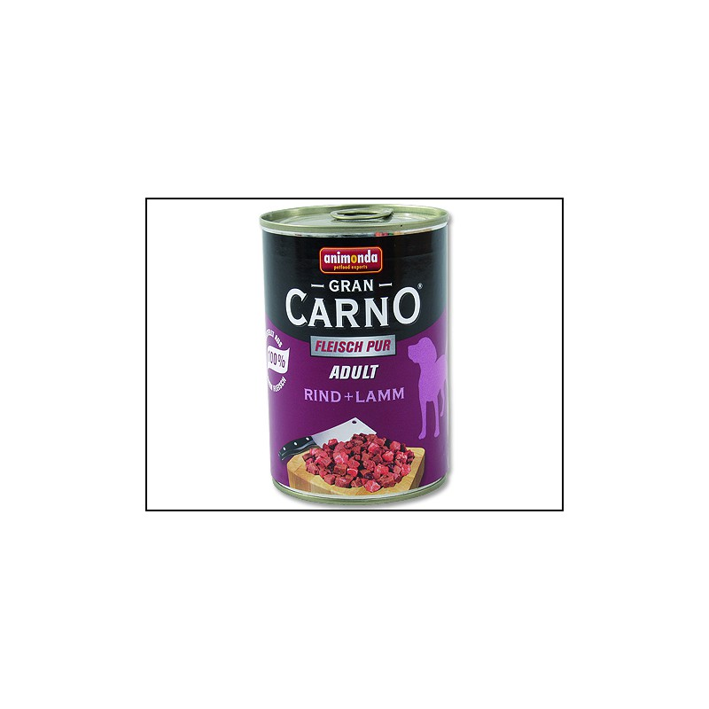 FELIX Konzerva ANIMONDA Gran Carno hovězí + jehně 400g