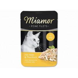 Kapsička MIAMOR Filet kuře + tuňák 100g
