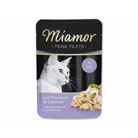 Kapsička MIAMOR Filet tuňák + kalamáry 100g