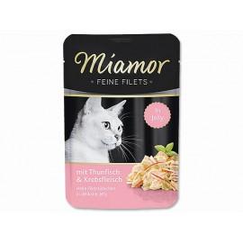 Kapsička MIAMOR Filet tuňák + krab 100g