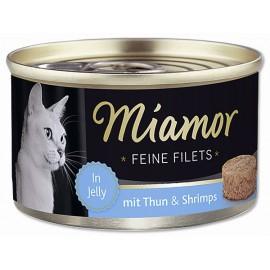 Konzerva MIAMOR Filet tuňák + krevety 100g