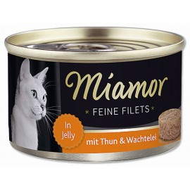 Konzerva MIAMOR Filet tuňák + křepelčí vejce 100g