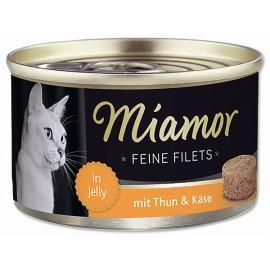 Konzerva MIAMOR Filet tuňák + sýr 100g