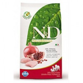 N&D Low Grain DOG Adult Mini Chicken & Pomegr 2,5 kg