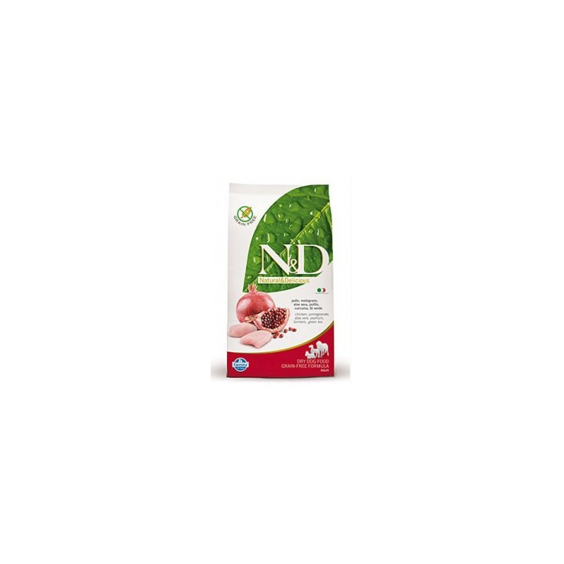 Farmina Pet Foods - N&D N&D Low Grain DOG Adult Mini Chicken & Pomegr 2,5 kg
