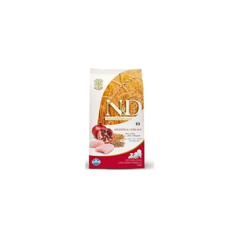 Farmina Pet Foods - N&D N&D Low Grain DOG Puppy Chicken & Pomegranate 2,5kg