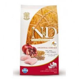 N&D Low Grain DOG Adult Mini Chicken & Pomegr 800g