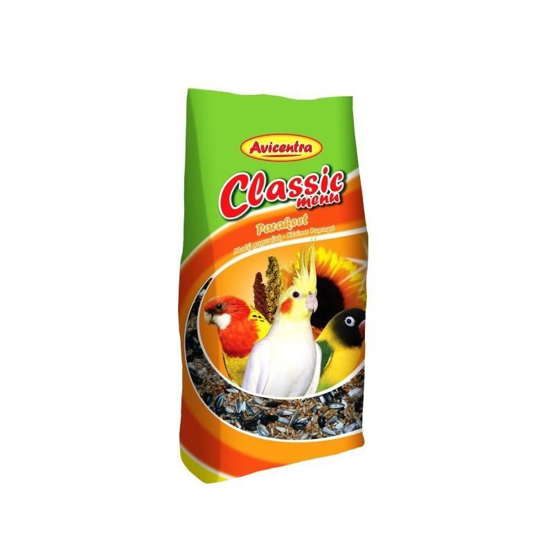 Avicentra s.r.o. Avicentra Classic menu malý papoušek 500g