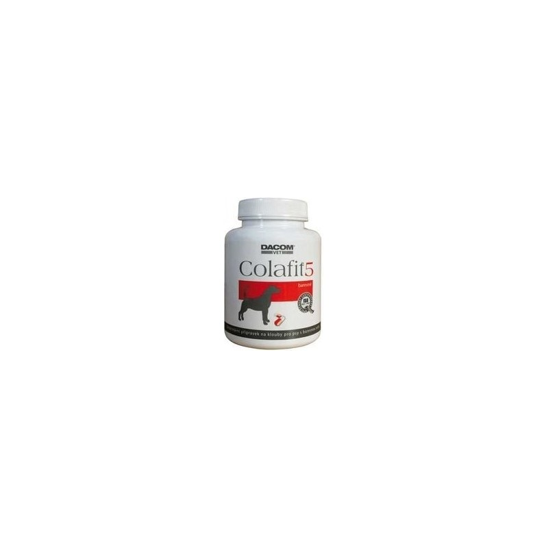 DACOM Pharma s.r.o. Colafit 5 na klouby pro psy barevné 100tbl