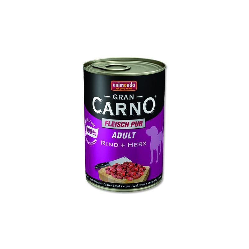 FELIX Konzerva ANIMONDA Gran Carno hovězí + srdce 400g
