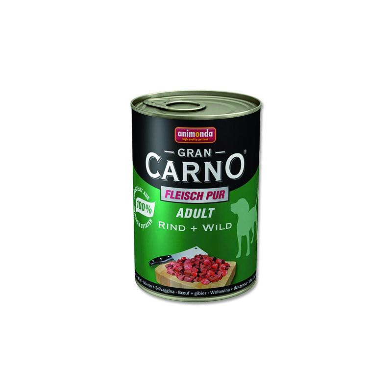 FELIX Konzerva ANIMONDA Gran Carno hovězí + zvěřina 400g