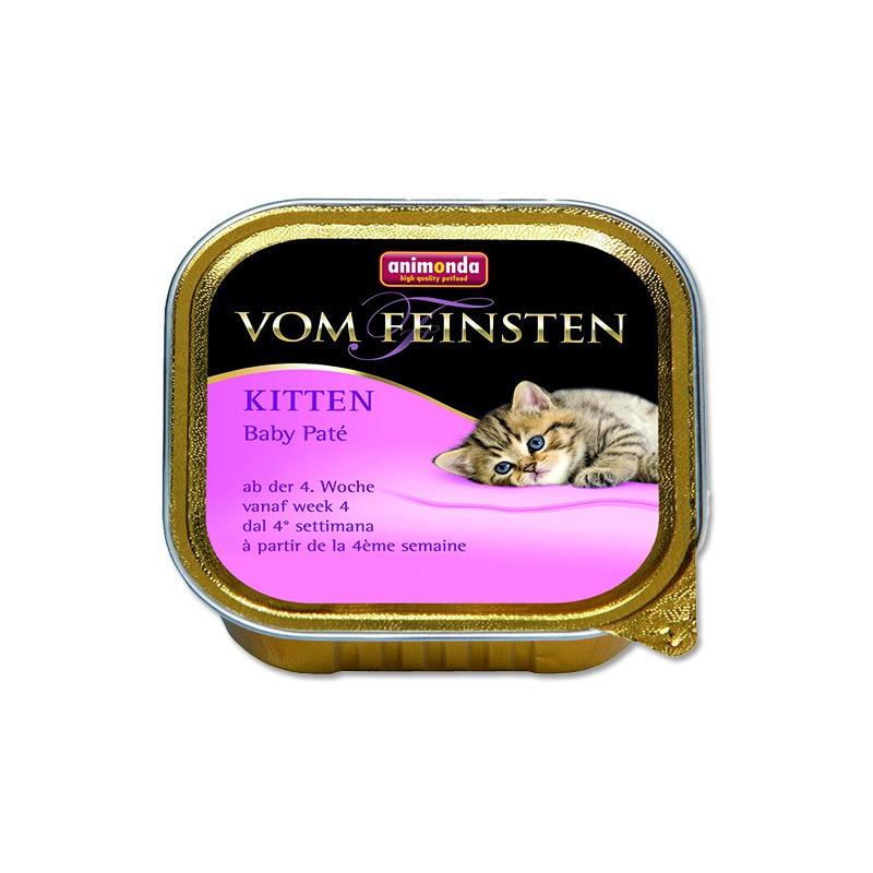 FELIX Paštika ANIMONDA Vom Feinsten Kitten Baby Pate 100g