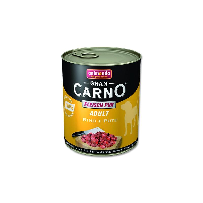 FELIX Konzerva ANIMONDA Gran Carno hovězí + krůta 800g