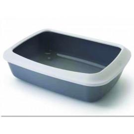 Toaleta SAVIC Isis + okraj šedá 50 cm 1ks