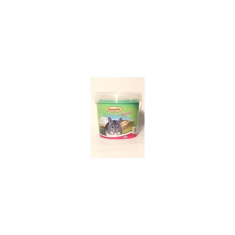 Avicentra s.r.o. Avicentra písek pro činčily - 1,5kg kyblík