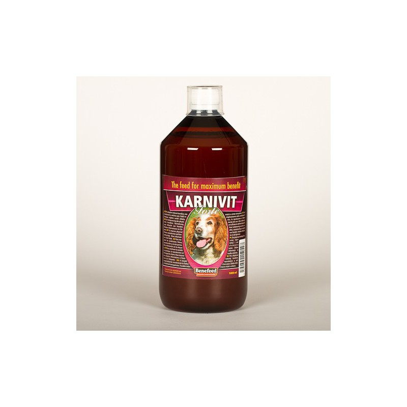 Aquamid s.r.o. Karnivit forte pes 500ml