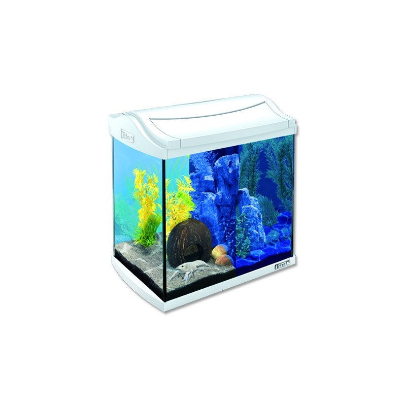 TETRA akvaristika Akvárium set TETRA AquaArt LED bílé 35 x 25 x 35 cm 30l