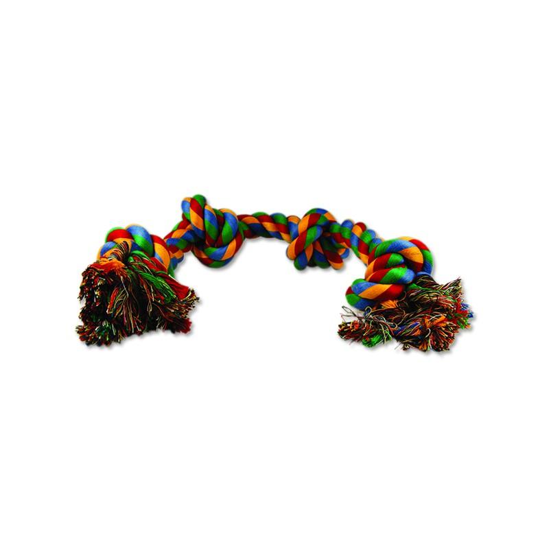 PINGYANG Uzel DOG FANTASY bavlněný barevný 4 knoty 60 cm 1ks