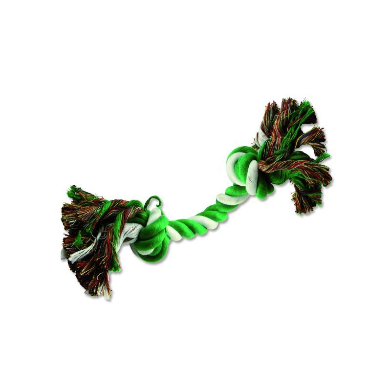 PINGYANG Uzel DOG FANTASY bavlněný zeleno-bílý 2 knoty 20 cm 1ks