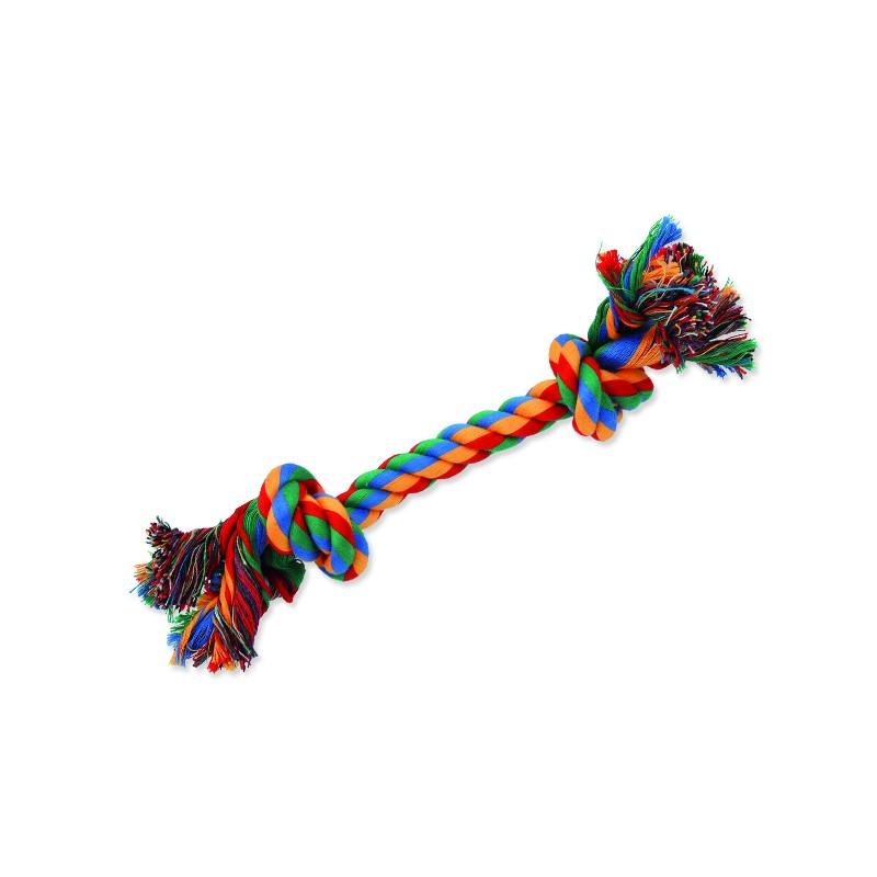 PINGYANG Uzel DOG FANTASY bavlněný barevný 2 knoty 25 cm 1ks