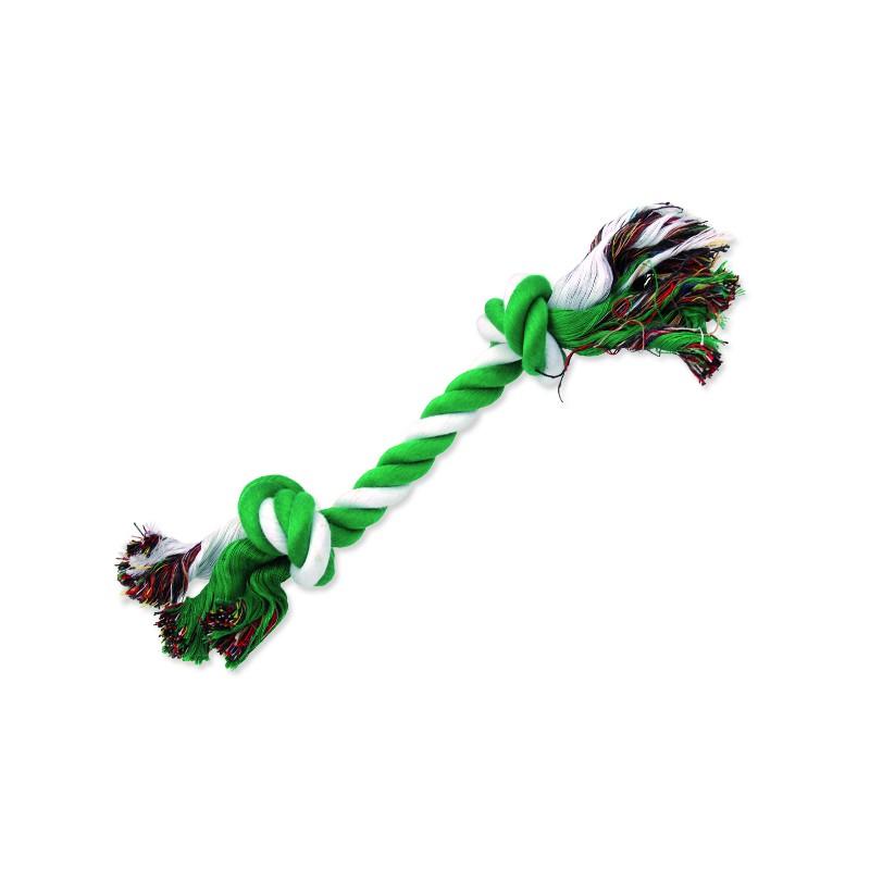 PINGYANG Uzel DOG FANTASY bavlněný zeleno-bílý 2 knoty 30 cm 1ks